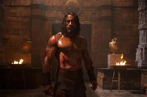 """Dwayne Johnson as Hercules in """"Hercules."""""""