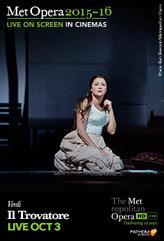 The Metropolitan Opera: Il Trovatore showtimes and tickets