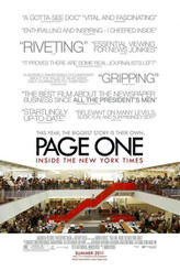Page One: Inside the New York Times showtimes and tickets