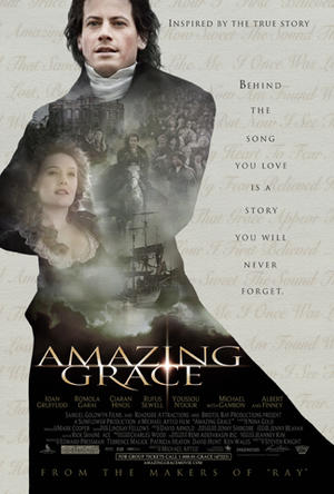 "Poster art for ""Amazing Grace."""