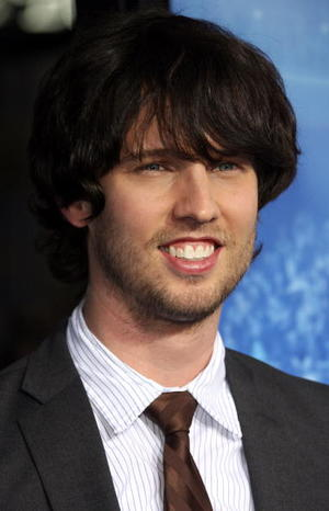 """""""Blades of Glory"""" star Jon Heder at the L.A. premiere."""