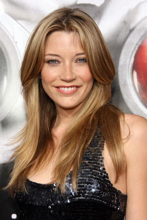 "Actress Sarah Roemer at the Hollywood premiere of ""Disturbia."""