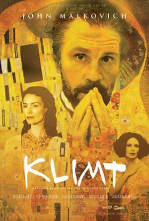 """Poster art for """"Klimt."""""""