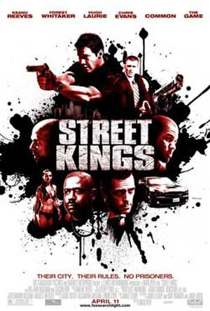 """Poster art for """"Street Kings."""""""