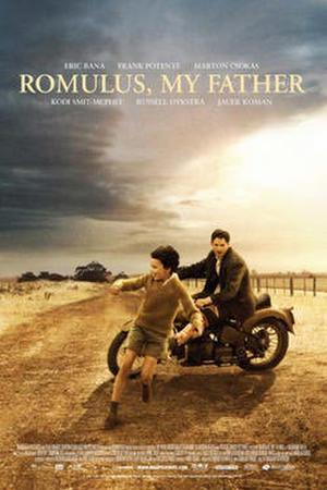 """Poster art for """"Romulus, My Father."""""""