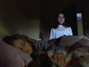 "Aryana Engineer as Max and Isabelle Fuhrman as Esther in ""The Orphan."""