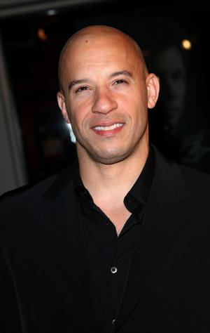 """Vin Diesel at the California premiere of """"Fast & Furious."""""""