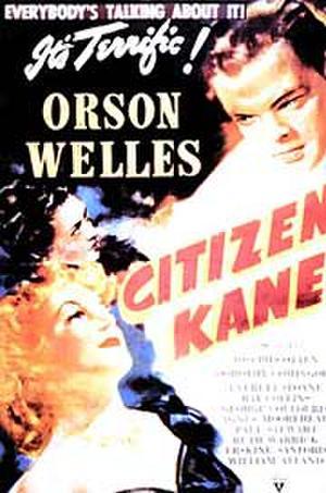 "Poster art for ""Citizen Kane."""