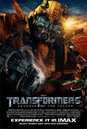 "Poster art for ""Transformers: Revenge of the Fallen: The IMAX Experience."""