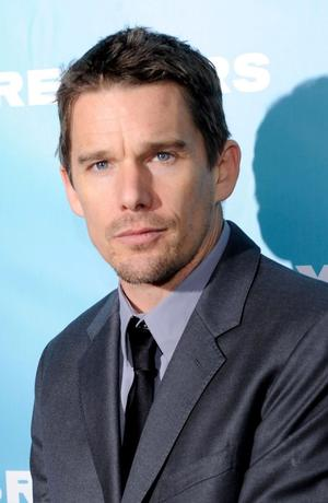 "Ethan Hawke at the New York premiere of ""Daybreakers."""