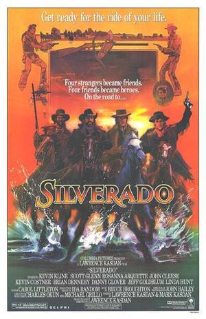 "Poster art for ""Silverado."""