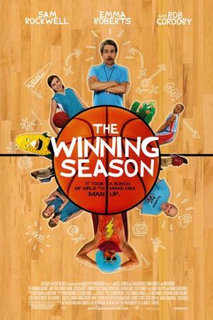 """Poster art for """"The Winning Season."""""""