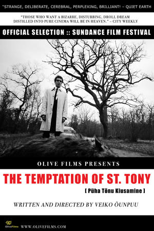 """Poster art for """"The Temptation of St. Tony"""""""