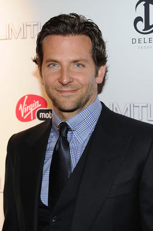 "Bradley Cooper at the New York premiere of ""Limitless."""