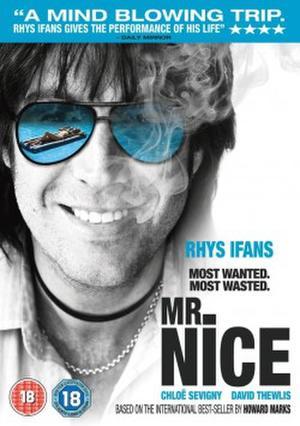 """Poster art for """"Mr. Nice."""""""