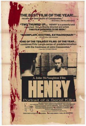 """Poster art for """"Henry: Portrait of a Serial Killer."""""""