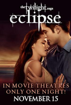 "Poster art for ""Twilight Saga Tuesdays: Eclipse."""