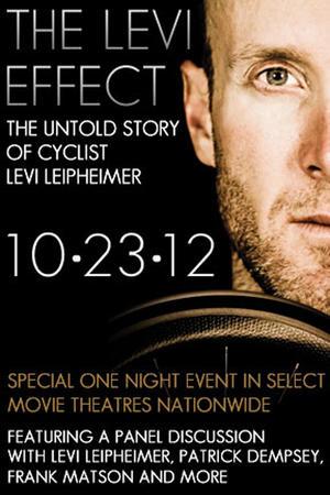 """Poster art for """"The Story of Levi Leipheimer."""""""