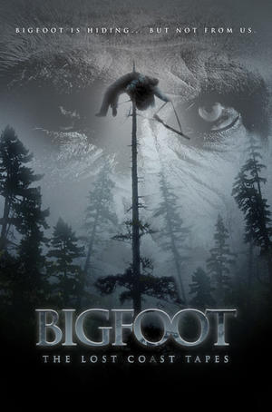 """Poster art for """"Bigfoot: The Lost Coast Tapes."""""""