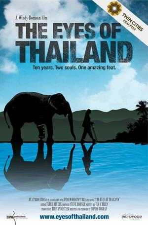 """Poster art for """"The Eyes of Thailand."""""""