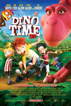 "Poster art for ""Dino Time."""