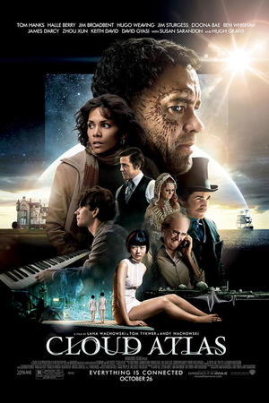 """Poster art for """"Cloud Atlas: The IMAX Experience."""""""