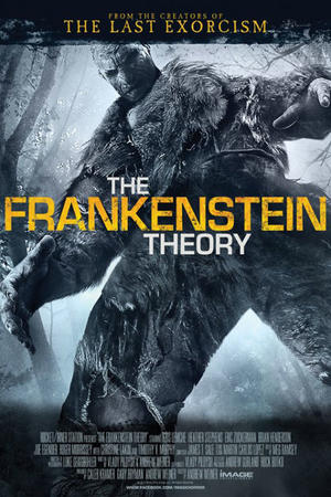 "Poster art for ""The Frankenstein Theory."""