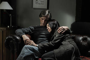 "Viggo Mortensen and Soledad Villamil in ""Everybody Has a Plan."""