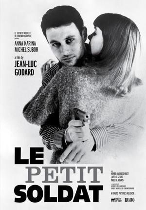 """Poster art for """"Le Petit Soldat."""""""