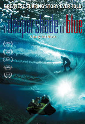 "Poster art for ""A Deeper Shade of Blue."""