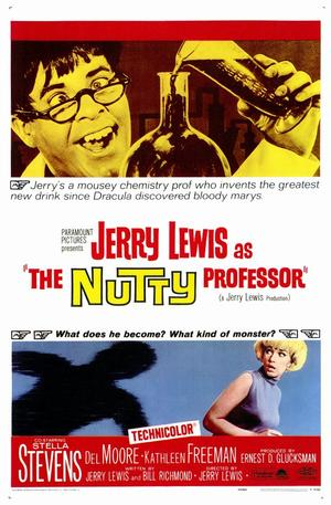 """Poster art for """"The Nutty Professor."""""""