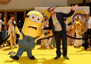 "Steve Carell at the premiere of ""Despicable Me 2"" in Universal City, CA."