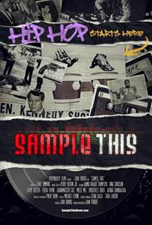 """Poster art for """"Sample This."""""""