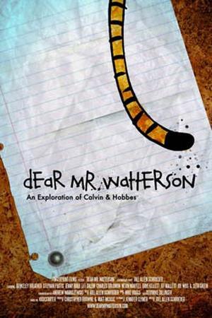 """Poster art for """"Dear Mr. Watterson."""""""