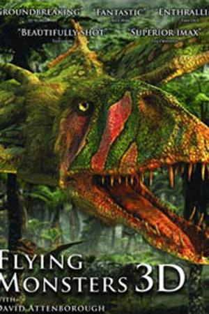 """Poster art for """"Flying Monsters 3D."""""""