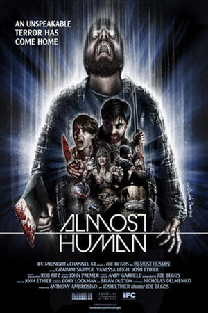 "Poster art for ""Almost Human"""