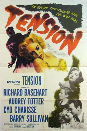 """Poster art for """"Tension."""""""