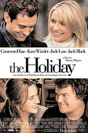 """Poster art for """"The Holiday."""""""