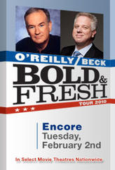 Bold and Fresh Tour: O'Reilly and Beck Encore showtimes and tickets