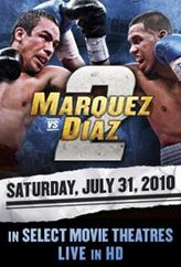 Marquez vs. Diaz II Fight Live showtimes and tickets