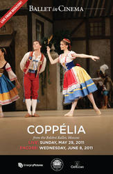 Coppelia (Bolshoi Ballet) - Encore showtimes and tickets