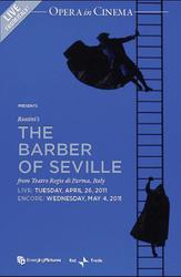 The Barber of Seville - Teatro Regio di Parma (LIVE) showtimes and tickets