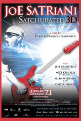 Joe Satriani: Satchurated 3D showtimes and tickets