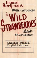 Wild Strawberries / Persona showtimes and tickets