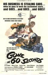 GONE IN 60 SECONDS / SPEEDTRAP showtimes and tickets