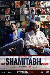 Shamitabh showtimes and tickets