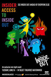 Insider Access to Disney Pixar's Inside Out showtimes and tickets
