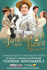 The Importance of Being Earnest on Stage showtimes and tickets