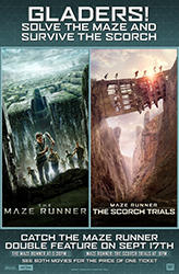 The Maze Runner Double Feature showtimes and tickets