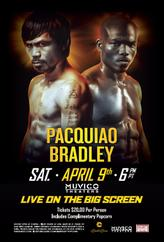 Pacquiao vs Bradley 3 showtimes and tickets